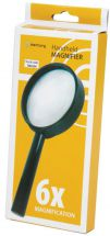 Mercury 700.054 Small Print Map Reading Hand Held 65mm 6x Magnifying Glass - New