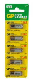 GP 656.007 Pack Of 5 23AE Battery Excellent Performance In Outdoor Use - New