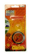 Boyz Toys RY439 Magnetic Compass 11 in 1 Magnifying Glass Travel Orienteering