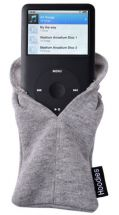 Slam Designs HD4 iPhone 5 Case Hoodie Sock Soft Protective Carry Pouch New Grey
