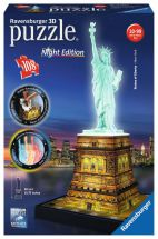 Ravensburger 12596 Statue of Liberty 3D Night Edition 216 Pieces Jigsaw Puzzle