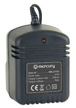 Mercury 660.237 9Vac Output 4.5W 500mA AC UK Power Supply 2.1mm Plug