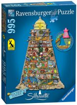 Ravensburger 16098 Colin Thompson Shaped Lighthouse 955 Pieces Jigsaw Puzzle