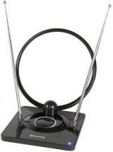 Mercury 120.505 Antenna Indoor Amplified TV/DAB Radio Antenna 1.5m