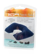 BoyzToys RY497 Gone Travellin' Compact Inflatable Travel Curved Neck Support New