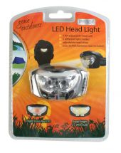 Boyz Toys RY205 LED Head Lamp Slim Fit Superbright Adjustable Elastic Strap New
