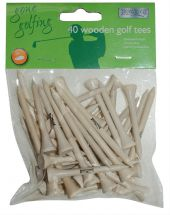 BoyzToyz RY256 Wooden Golf Tees 40 Pack 30 Standard Length 10 Extra Long New