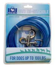 BoyzToys RY792 Extra Strong Weather Resistant 20ft Tie Out Cable For Dogs - New