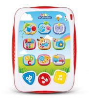 Clementoni 61320 Children's My First Electronic Speaking Tablet Toy - Multi
