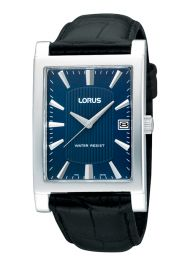 Lorus RH943CX9 Mens Gents Black Aligator Strap Water Resistant Dress Wrist Watch