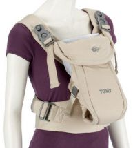 Tomy Freestyle Classic Baby Carrier with Lumbar Support & Padded Harness - Beige