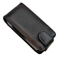 Aquarius N97FLBK Nokia N97 Mobile Phone Carry Flip Case Black Leather Effect New