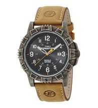 Timex T49991 Strap Buckle Expedition Rugged with Black Colour Dial Metal Watch