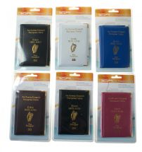 Boyz Toys RY681 Irish Passport Cover - Protect Your Passport - Assorted Colours