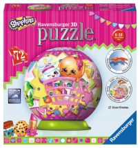 Ravensburger 12176 Shopkins 72 Piece Three Dimensional Childrens Jigsaw Puzzle
