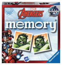 Ravensburger 22313 Marvel Avengers Mini Memory Game Childrens Card Game - New
