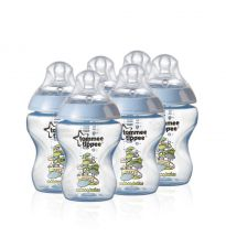 Tommee Tippee Closer To Nature Baby Bottle 6 Pack � Blue 42256210