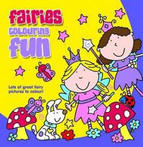 Holland Publishing Fairies Colouring Fun 488H