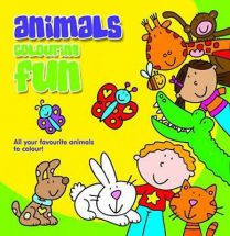 Holland Publishing Animals Colouring Fun 486H