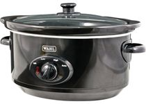 Wahl ZX710 3.5L Electric Slow Cooker 3 Settings Cool Touch Removable Pot - Black