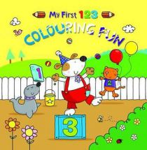 Holland Publishing My First 123 Colouring Fun 490H