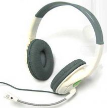 XBOX 360 Big Headset Over Ear Gaming Headphones Mic New