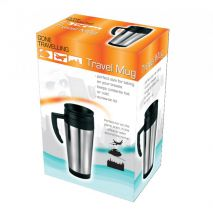 BoyzToys  380ml Stainless Steel & Plastic Travel Mug RY509