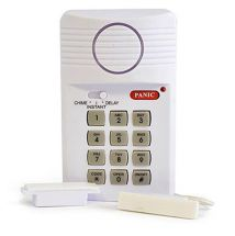 Lloytron B8103 Rapid Response Battery Operated Door Sensor Security Alarm 100db