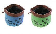 BoyzToys RY787 Folding Travel Flexible Water Bowl For Pets On The Go - New
