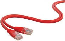 AV:Link 505.582 RJ45 UTP Network Cable Patch Lead Copper Clad 10.0m Length - Red