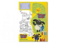 Timmy Time Bumper Sticker Colouring Book TT01