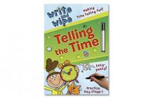 Holland Publishing 880H Write and Wipe Telling The Time Childrens Activity Book
