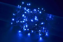 Fluxia 155.503 Battery Operated Blue 80 LED String Lights 8 Metre Length - New