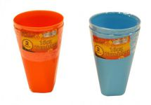 BoyzToys Twin Pack Reusable Plastic Tumblers