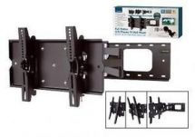 Lloytron T310S VESA 75 100 200 Black LCD TV Wall Mount Full Range Motion 23
