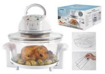 Lloytron E4701 12Ltr 1300w Halogen Convection Electric Fast Cooker Oven - White