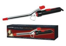 Lloytron 13mm Slimline Styling Curling Tong Black/Red