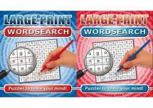 Holland Publishing 326H Large Print Word Search Adults Activity Book - New