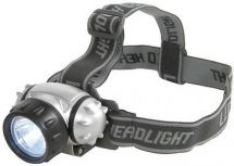 Mercury 410.336 1W Ultra Bright Single LED Head Torch Water Resistant Adjustable