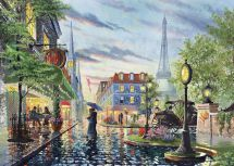 Clementoni 39395 High Detail Quality 1000pcs Paris Cafe Summer Jigsaw Puzzle