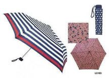 KS Brands UU0183 Umberella Supermini Handbag Size Brolly Nautical Print Mixed