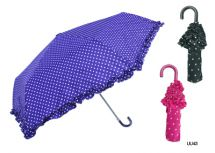 KS Brands UU0043 Umberella Supermini Handbag Size Brolly Frilled Edge Assorted