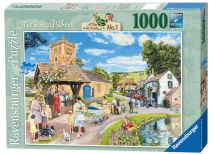Ravensburger 19076 Escape to the Country The Sunday Service Jigsaw Puzzle - New
