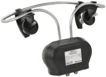 Mercury 130.022 Wideband Clamp-on Mixer Aerial With 4G/LTE Filter - 1 Output