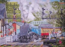 Ravensburger 14058 The Magic Of Steam Railway Twin Pack 500 Piece Jigsaw Puzzles