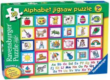 Ravensburger 07047 High Quality 28 Pieces Discover & Develop Alphabet Puzzle