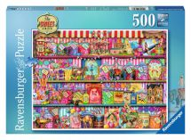 Ravensburger The Sweet Shop 500 Piece Jigsaw Puzzle 14653