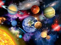 Ravensburger 13226 High Quality Solar System 300 Piece Space Jigsaw Puzzle Game