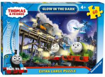 Ravensburger 06905 Thomas & Friends Jigsaw 60pc Glow in the Dark Puzzle - Multi