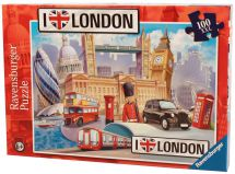 Ravensburger 10607 High Quality London XXL 100 Pieces Children's Jigsaw Puzzle